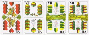 A hetes lapok (VII) a magyar kártyapakliban
