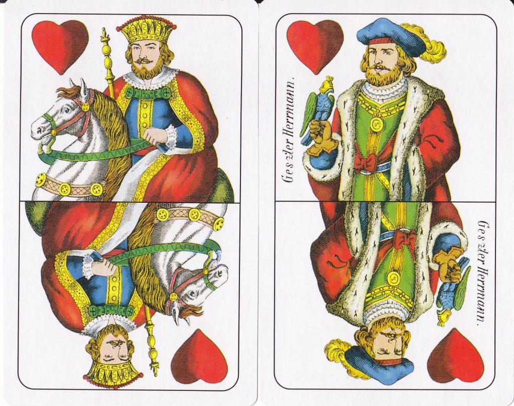 40 vagy 20 értékű lapok piros színben attól függően piros- e vagy más színű az adu