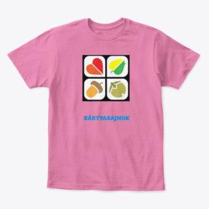 Kártyabajnok póló lányoknak